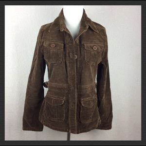 Forever 21 corduroy brown jacket size L A1